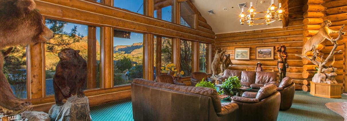 Majestic View Lodge Lobby