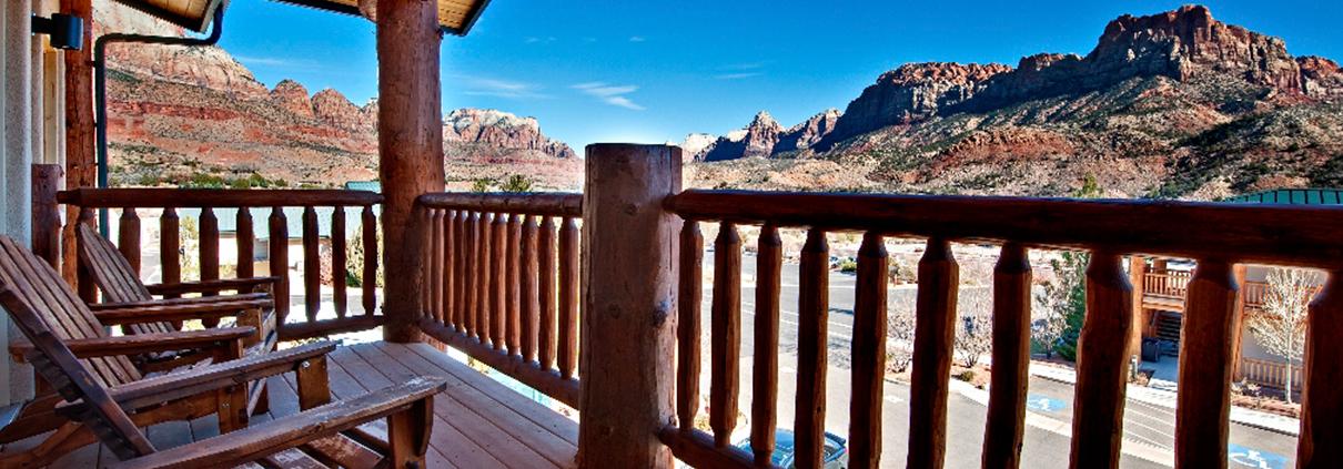 Majestic View Lodge Views of Zion