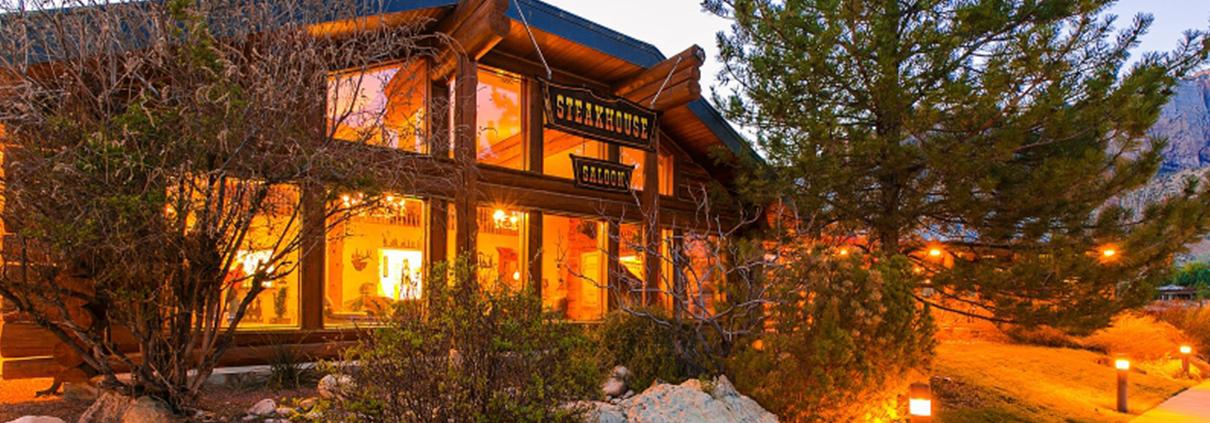 Majestic View Lodge Entrance