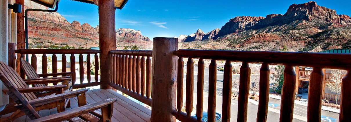 Majestic View Lodge Views of Zion